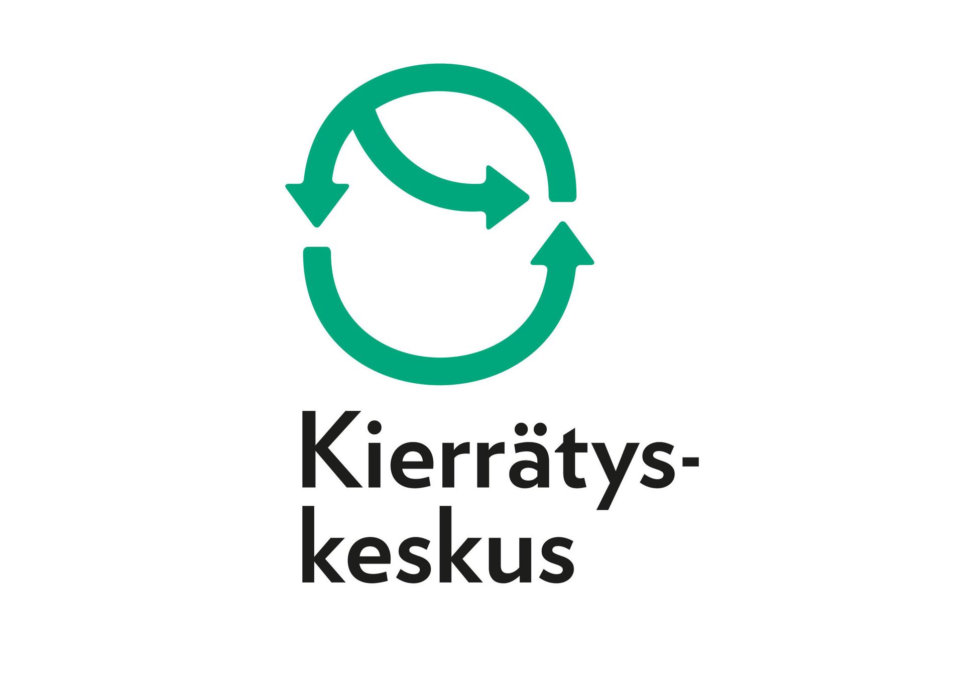 Kierrätyskeskuksen logo.